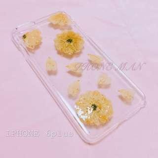🈹特價 IPhone 6 plus 乾花殻 押花殻 包平郵