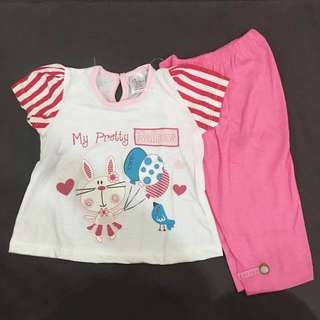 223-0171 Baby Girl Cute Set Wear
