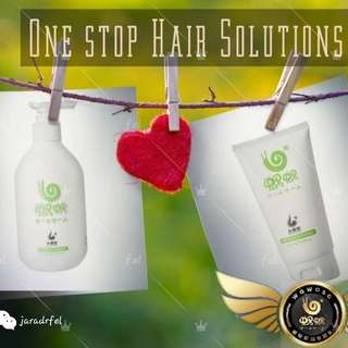 Pure Ginger Shampoo & hair Mask set