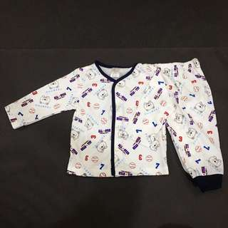 Baby Boy Cute Pyjama Set 223-0191