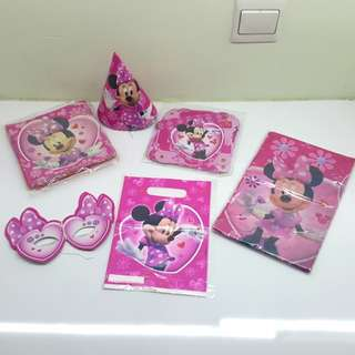Minnie Mouse party set (6 items)