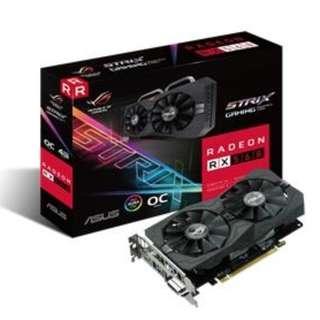 ASUS Radeon RX 560 4GB Strix OC RX560