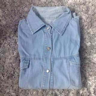 Light Denim Shirt / Kemeja Denim