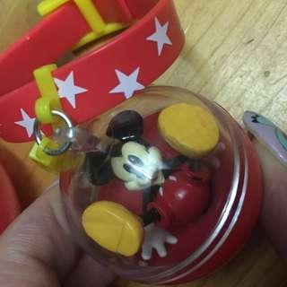 只限郵寄 包平郵 迪士尼 Disney 米奇老鼠 Mickey Mouse 扭蛋 手帶 可愛