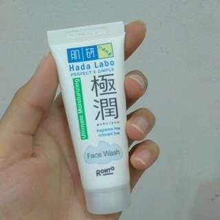 Hada Labo Gokuyjun Ultimate Moisturizing Face Wash