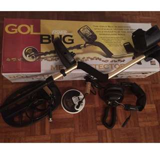Fisher Gold Bug Very Accurate Scanner Gold Detector