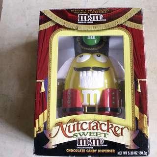 M&Ms NutCracker Sweet Candy Dispenser