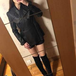 mi-tu Genuine leather coat (mi-tu真皮皮褸)
