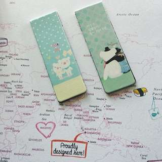 Animals Magnetic Bookmark