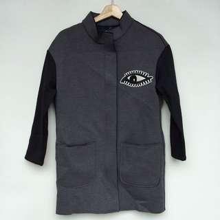 NEW Women's coat, coat wanita, bahan scuba tebal, freesize