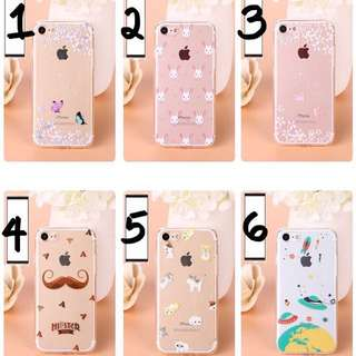 PO(225) Hipster Rabbit Cat Space Spaceship Star Butterfly iPhone Phone Case