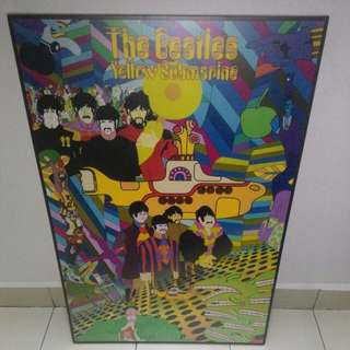 The Beatles Yellow Submarine Frame