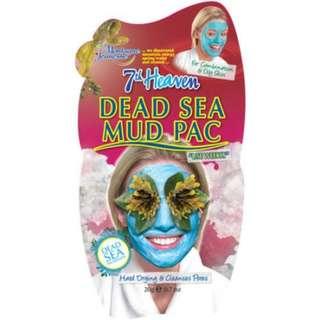 7th Heaven Dead Sea Mud Pac Face Mask