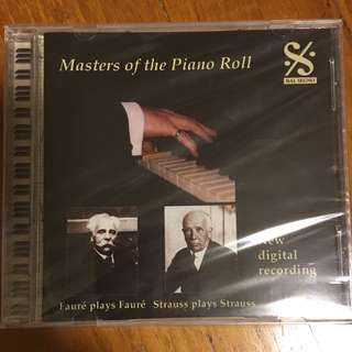 Masters of the Piano Roll - Faure & Strauss ( CD )