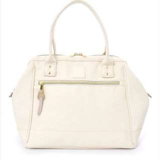 anello shoulder leather tote