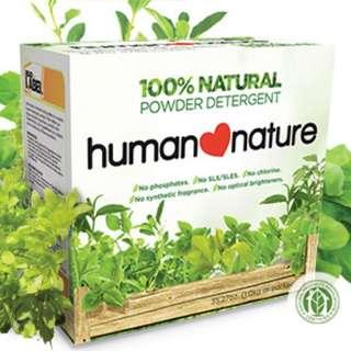 Natural Powder Detergent