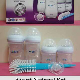 Avent Natural Strater Set