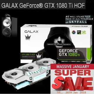 Galax GTX 1080 Ti HOF White 11GB GDDR5X. ( Super Offer Sales till...28 Jan 2018....) Hurry Grab it while Stock Last..!! (Svae yrsf)