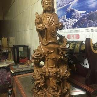 老山檀香觀音(30cm)