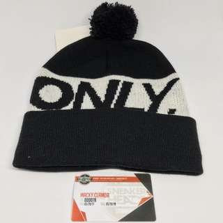Only ny logo beanie black