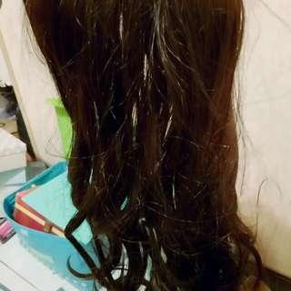 🚚 超真實髮質超好棕色髮片