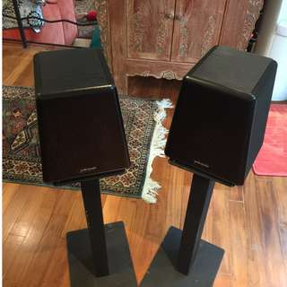 Polk Audio Rear Speakers and Stands