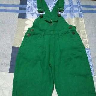 Green Denim Jumper