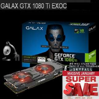 GALAX GTX 1080Ti EXOC Black ( Super Offer Sales till...28 Jan 2018....) Hurry Grab it while Stock Last..!! (Save yrsf)