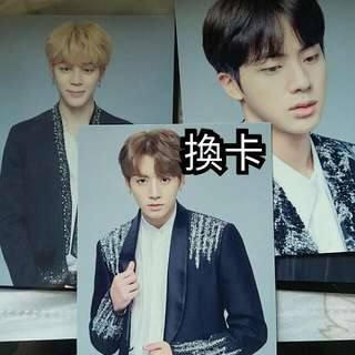 防彈小卡 BTS小卡 THE WINGS TOUR FINAL Mini photo card