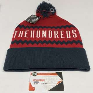 The hundreds tone beanie red