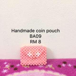 Handmade coin pouch