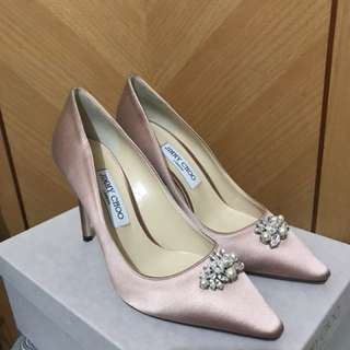 Jimmy choo 全新 100mm高踭鞋