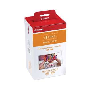 Canon SELPHY RP-108 Color Ink + Photo Paper Set [108 pcs]