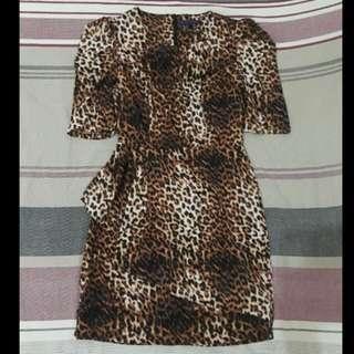Forever 21 Leopard Print Dress (S)