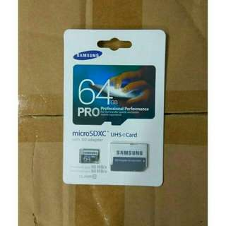 Memory card pro 64Gb