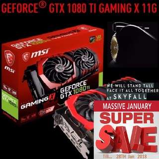 MSI GTX 1080 Ti Gaming X.  ( Super Offer Sales till...28 Jan 2018....) Hurry Grab it while Stock Last..!! (Save yrsf)