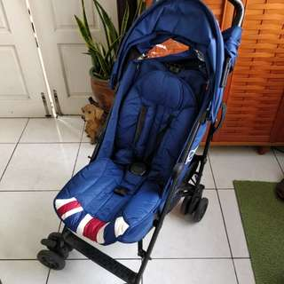 Preloved Mini Easywalker Union Jack stroller