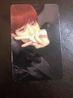 [WTT] [TRADE] EXO EX'ACT CHANYEOL LUCKY ONE PC