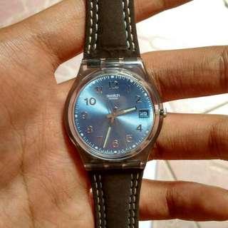 swatch blue choco GM415 ( UNISEX )
