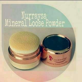 Mineral Loose Powder Hijab Muslimah