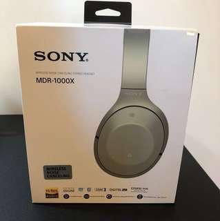 全新Sony MDR-1000X(有單有盒,仲有保養)