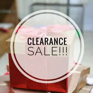 CLEARANCE SALE!!! ALL MUST GO!!