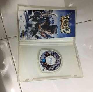 PSP game (monster hunter 2 freedom)