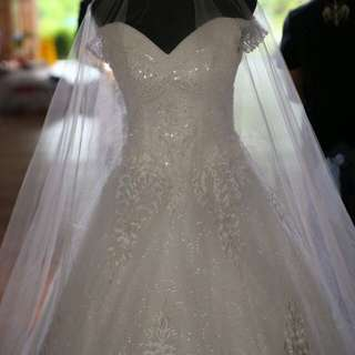 Pre Loved Wedding Dress For Rent