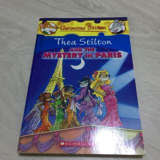 Thea Stilton - And The Mystery In Paris
