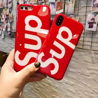 💯 Supreme Blu Ray shiny Ulzzang phone case for iPhone X SE 5C 5S 6 6S 7 8 Plus
