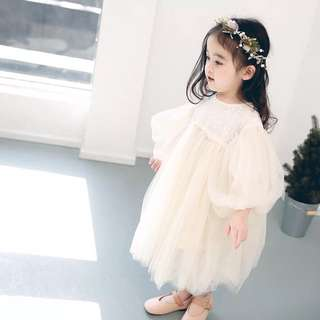 Girls mesh dress/ princess dress