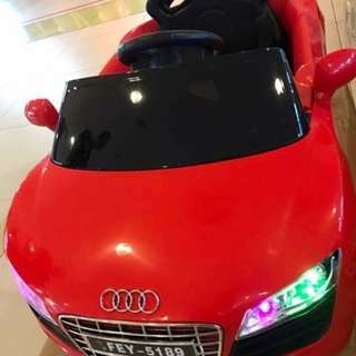 Audi mini toy ride on #sweldoday