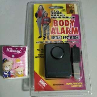 🈹: Body Alarm , Instant Protection! Protect Person, Property, Door, Window ...