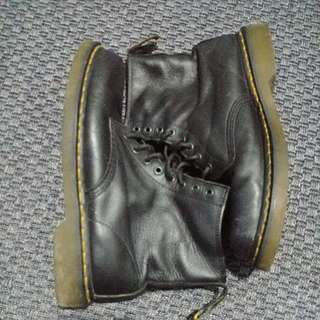 Dr Martens Napa Leather Boots